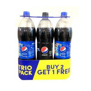 BUY 2 Pepsi Regular 1.5L GET FREE Pepsi Zero 1.5L