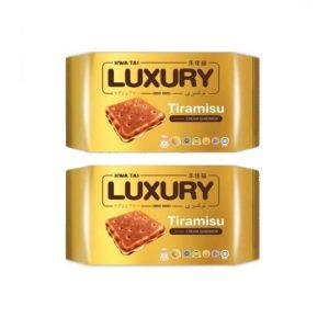 BUY 1 TAKE 1 Hwai Tai Luxury Tiramisu Flavored Cream Sandwich 100g