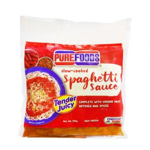 50% OFF Purefoods Slow-Cooked Spaghetti Sauce 500g